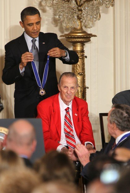 Stan Musial's Medal of Freedom