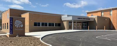 Holland Construction Services Completes Carlyle High School Building Addition.