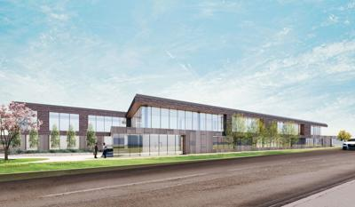 proposed St. Louis County Library Administration and Genealogy Building