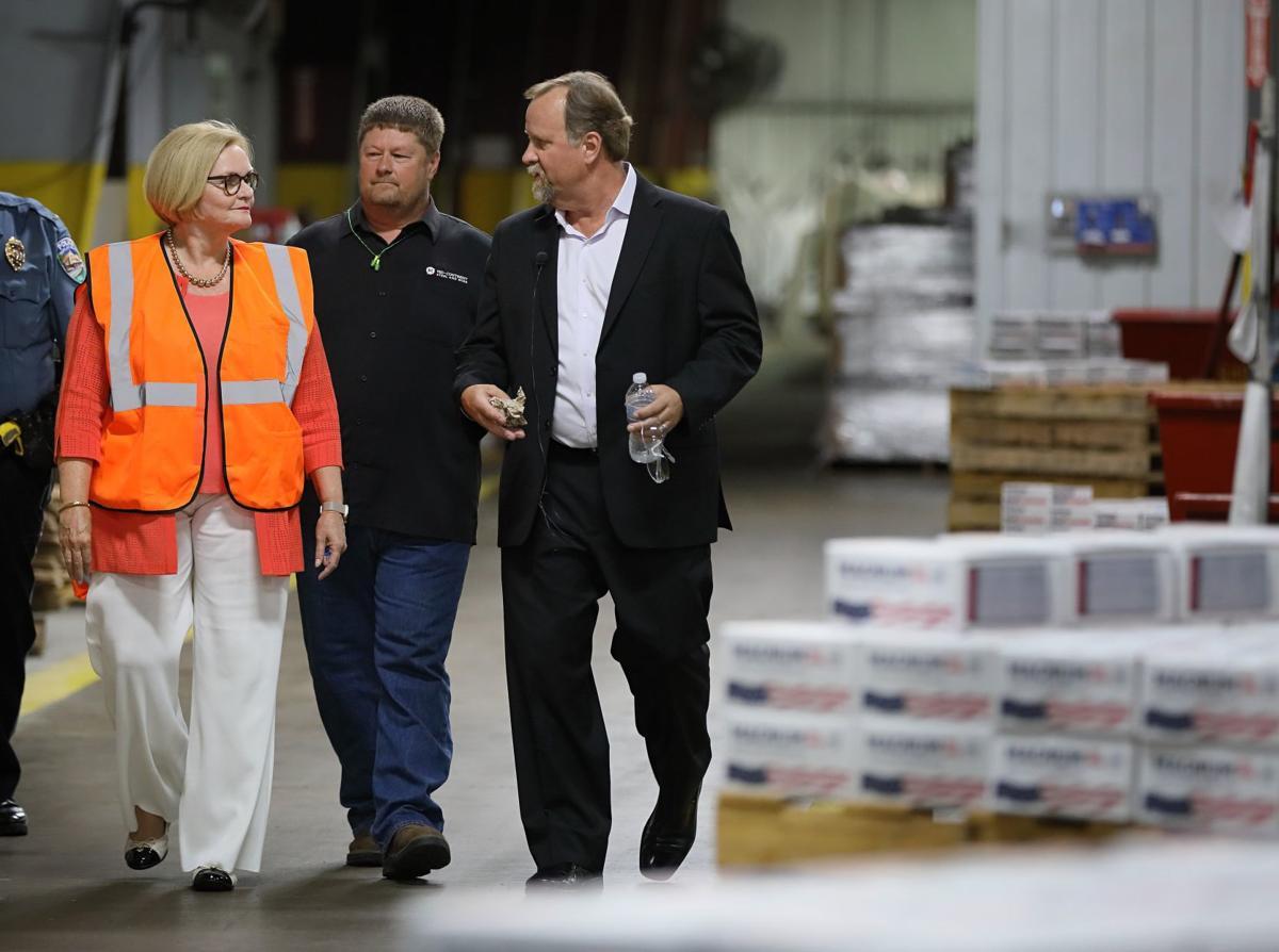 Senator Claire McCaskill hears tariff concerns in Poplar Bluff