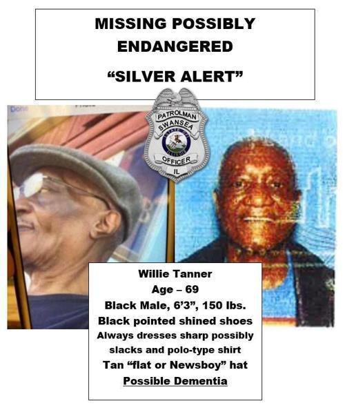 Silver Alert for Willie Tanner