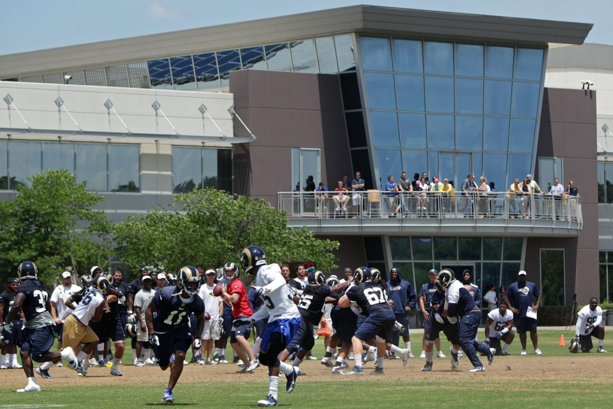 Rams OTA, June 19, 2014