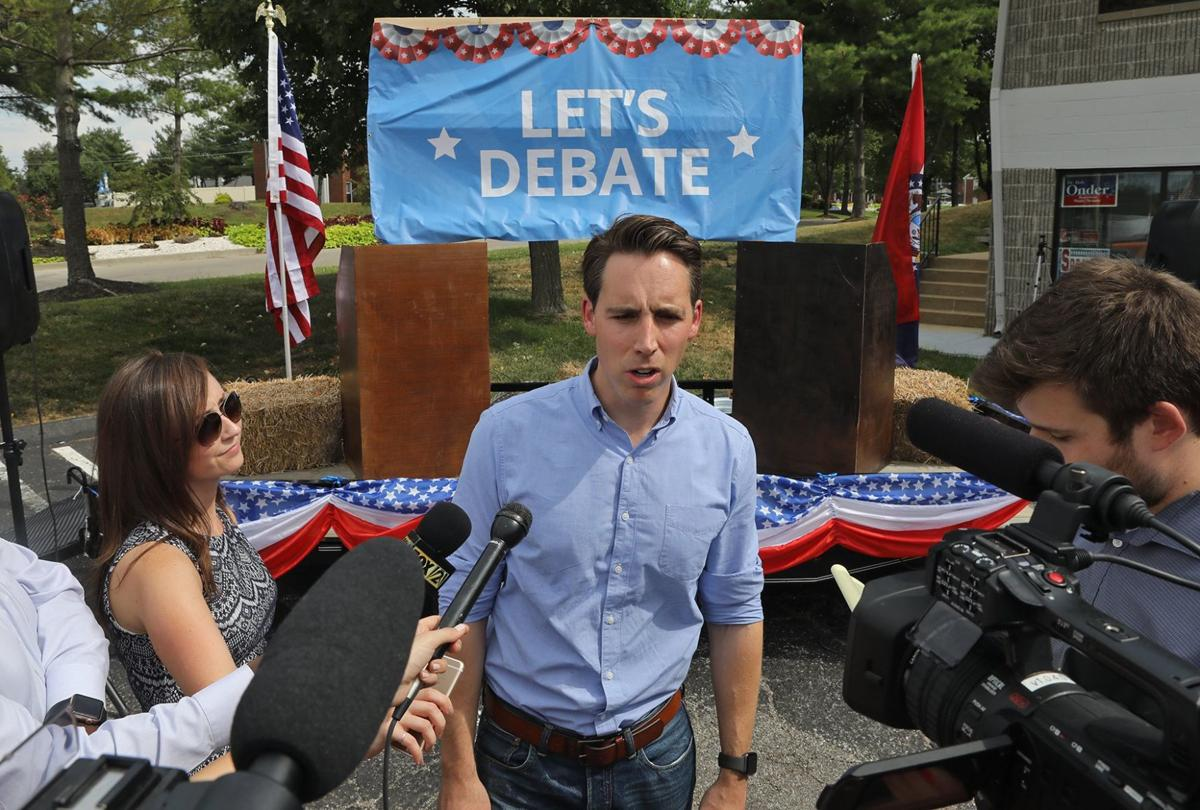 Josh Hawley starts his campaign after the primaries