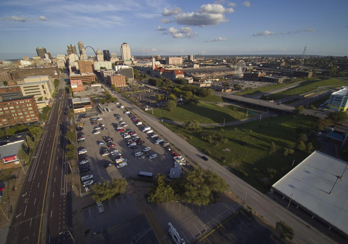 Proposed St. Louis Major League Soccer stadium site