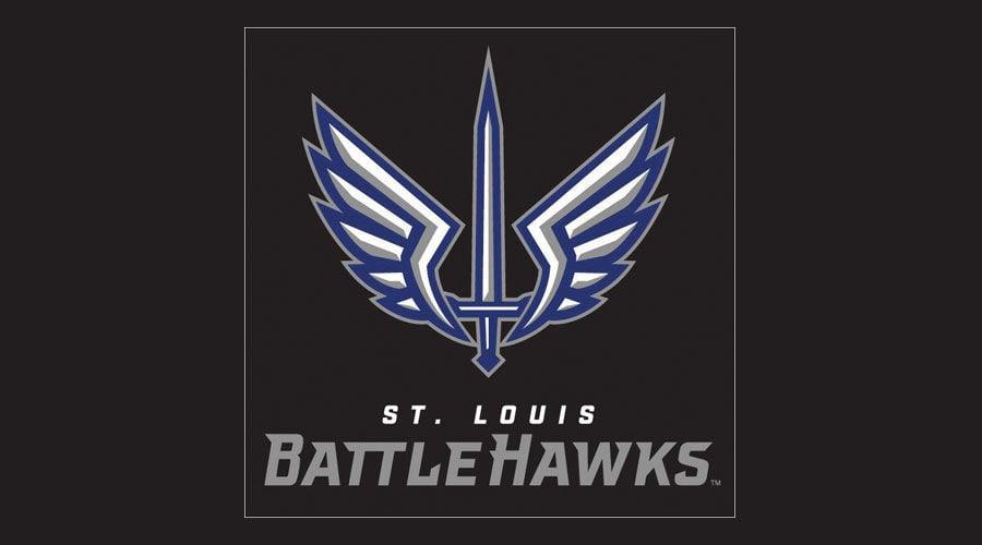 XFL St. Louis BattleHawks logo