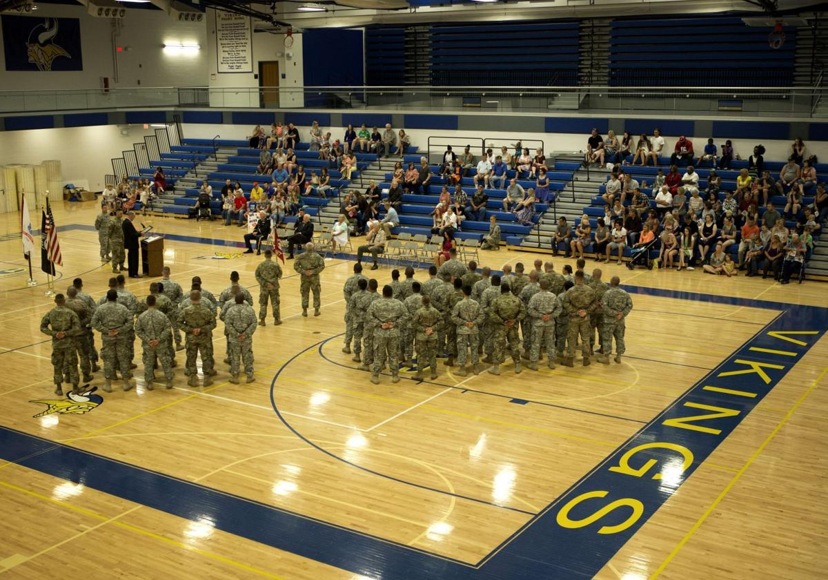 279th Enginner Detachement Deployment Farewell Ceremony