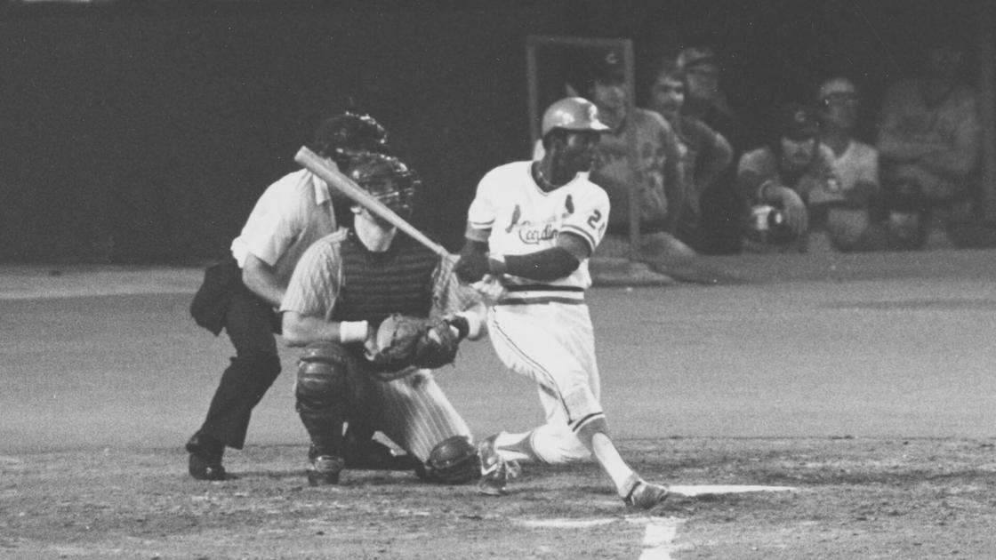 Today in sports history: Cardinals' Lou Brock gets 3,000th career hit