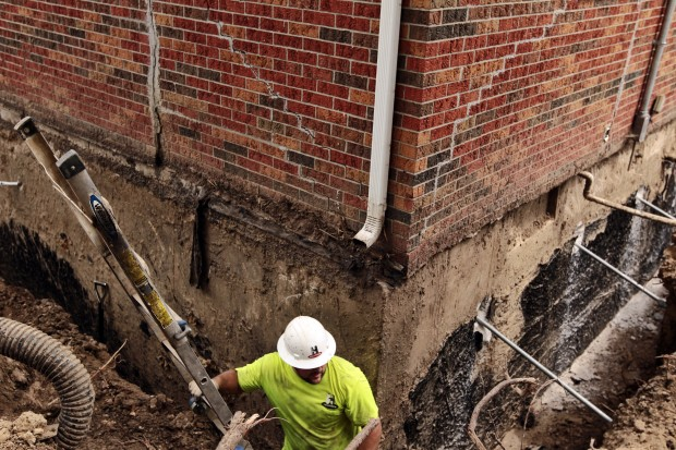Drought causes problems with home foundations