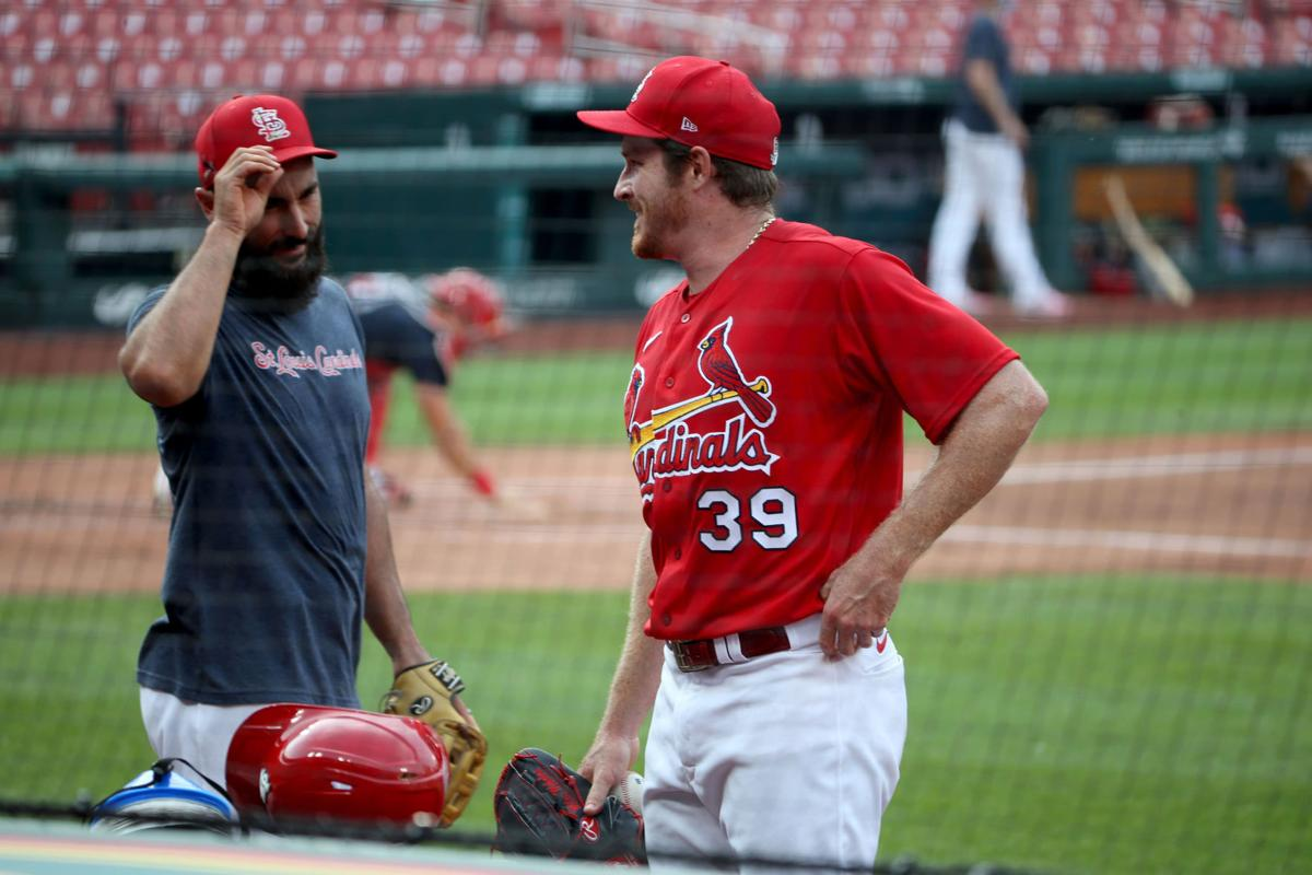 Cardinals continue practice after missed day