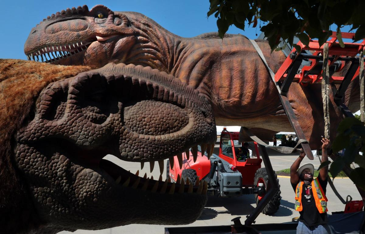 Photos: Dinosaurs rumble into St. Charles Convention Center
