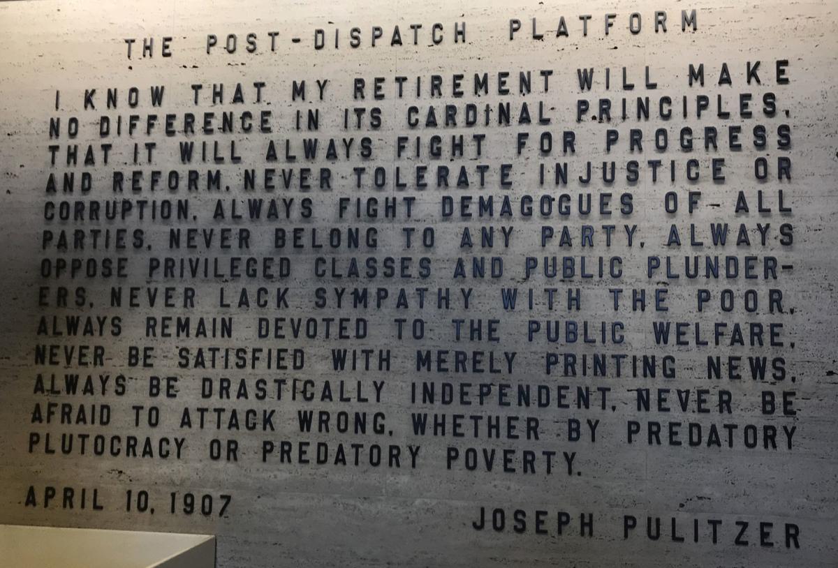 Post-Dispatch platform