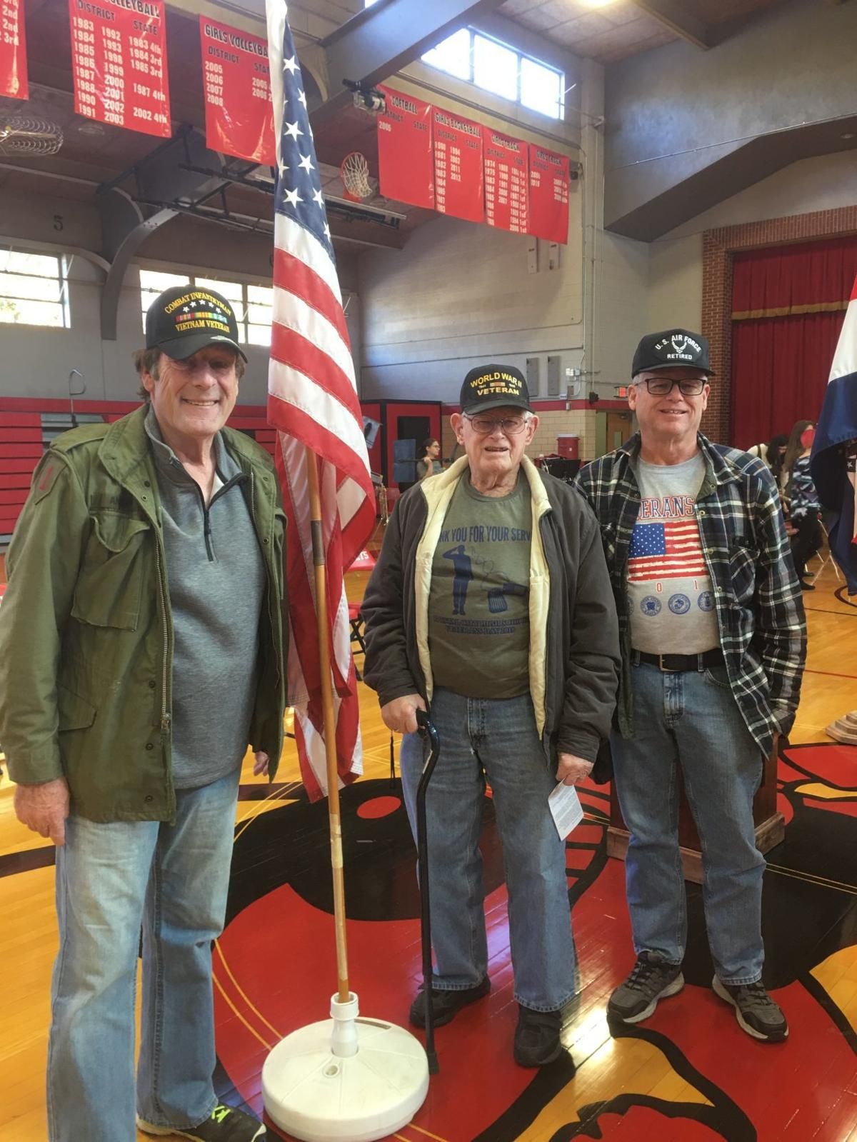 Veterans tribute at Crystal City High