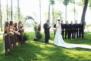 Old Hickory Outdoor Wedding