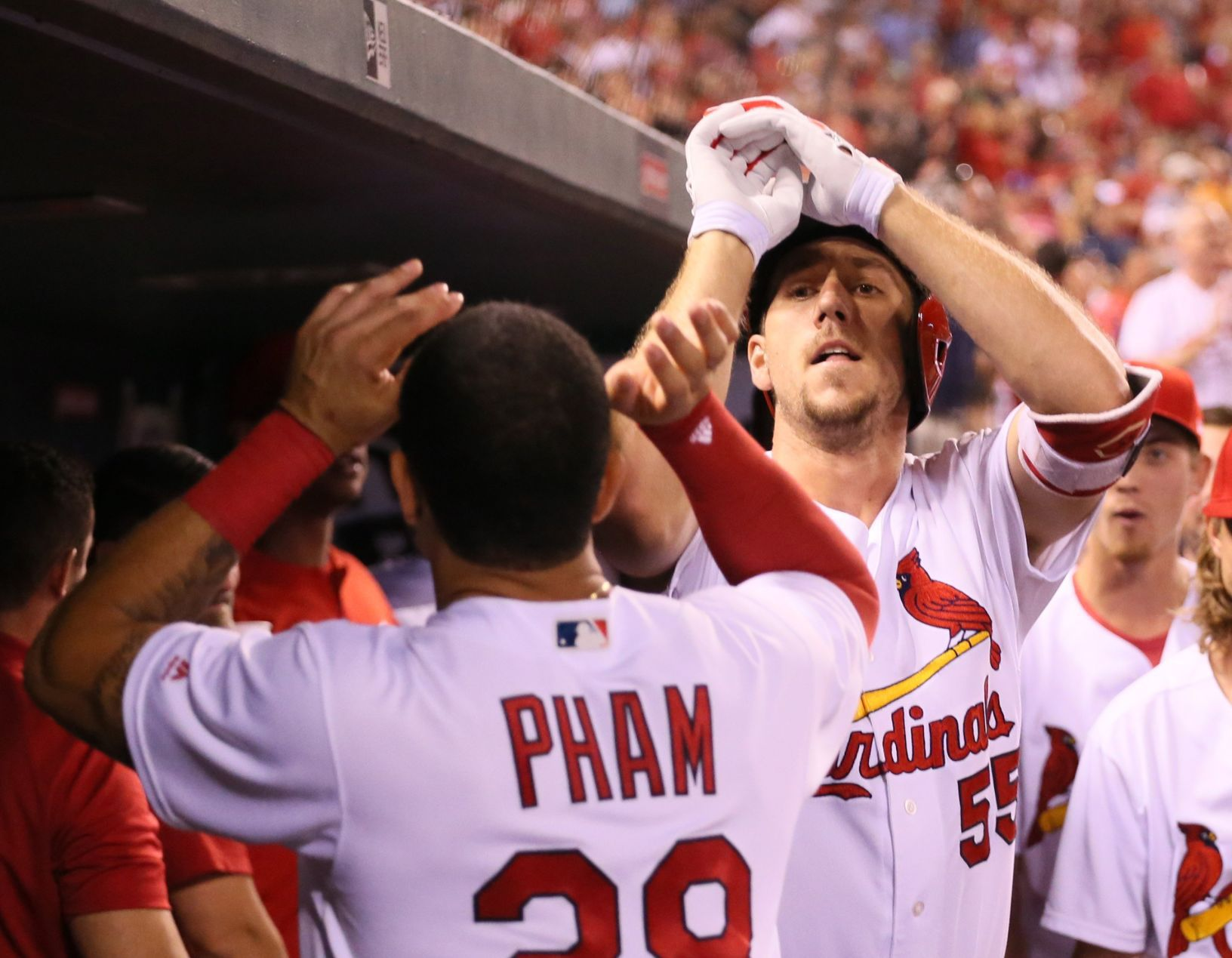 Weaver helps pitch Cardinals to 6-2 win over Padres