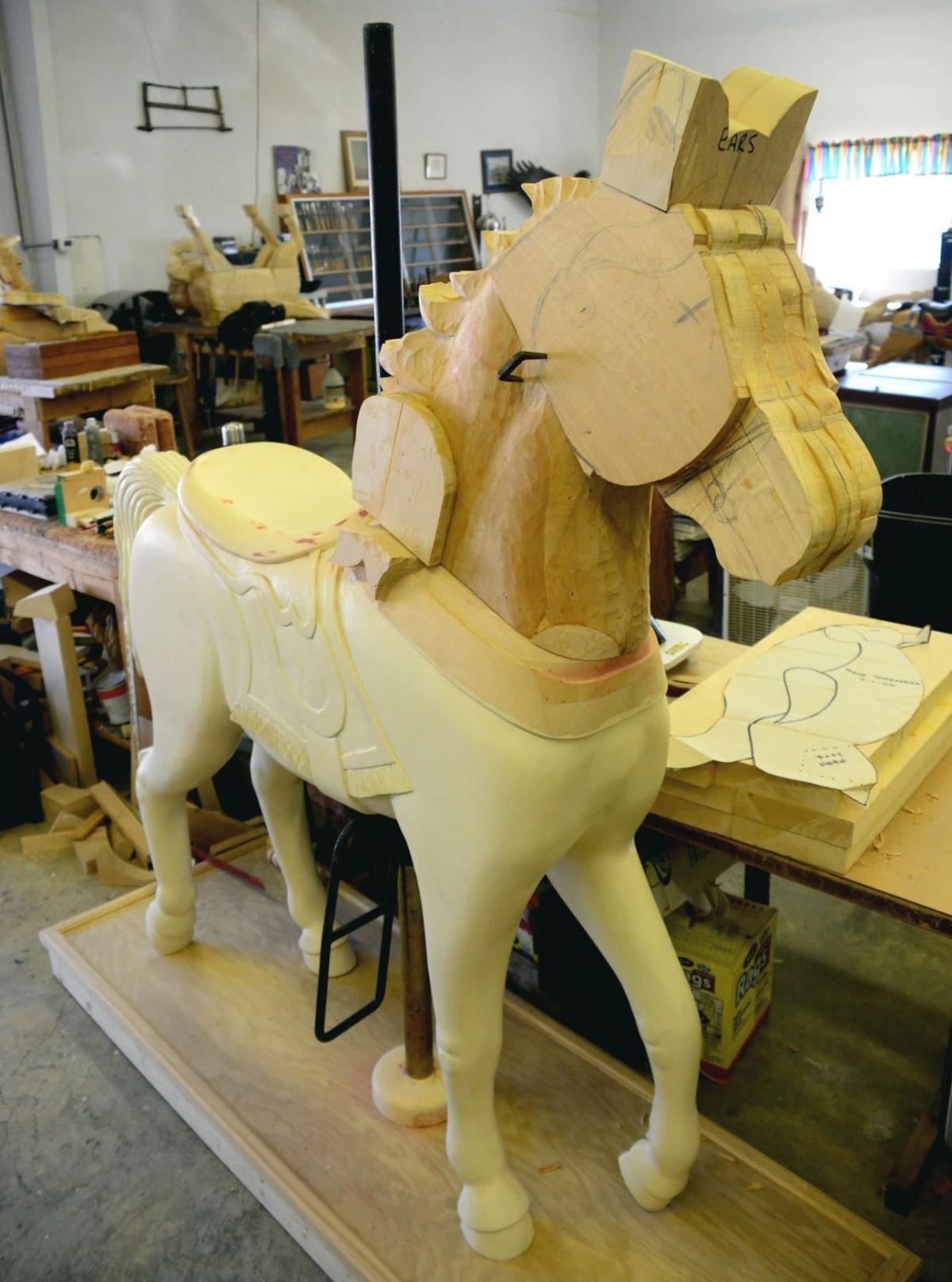 Horsin' Around Carousel Carving School in Soddy Daisy, Tenn
