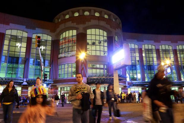 America's Center, Dome host robotics games