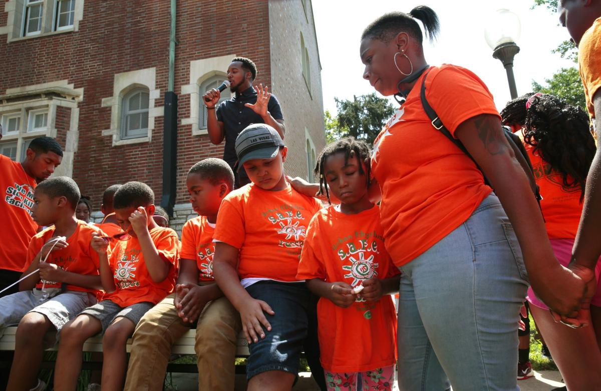 'Young Lives Matter' rally held at Better Family Life