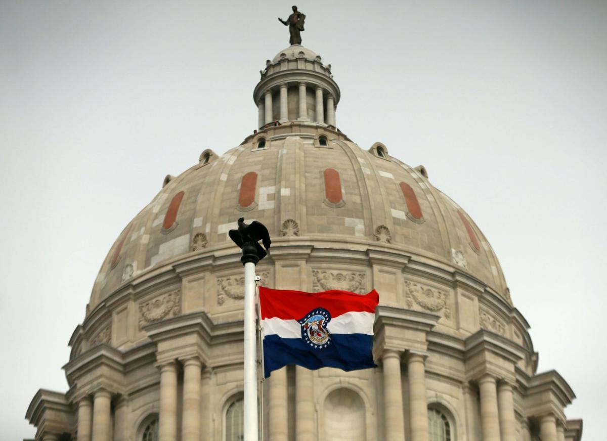 Missouri capitol closed, quiet