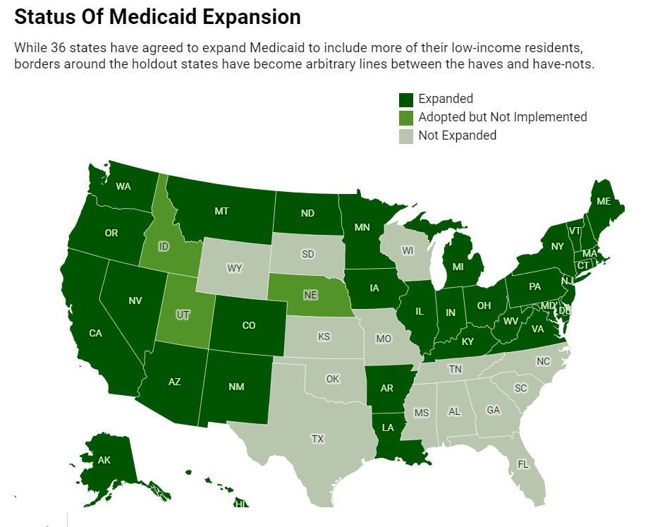 Status of Medicaid Expansion