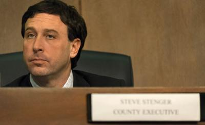 Stenger participates in first council meeting as county executive