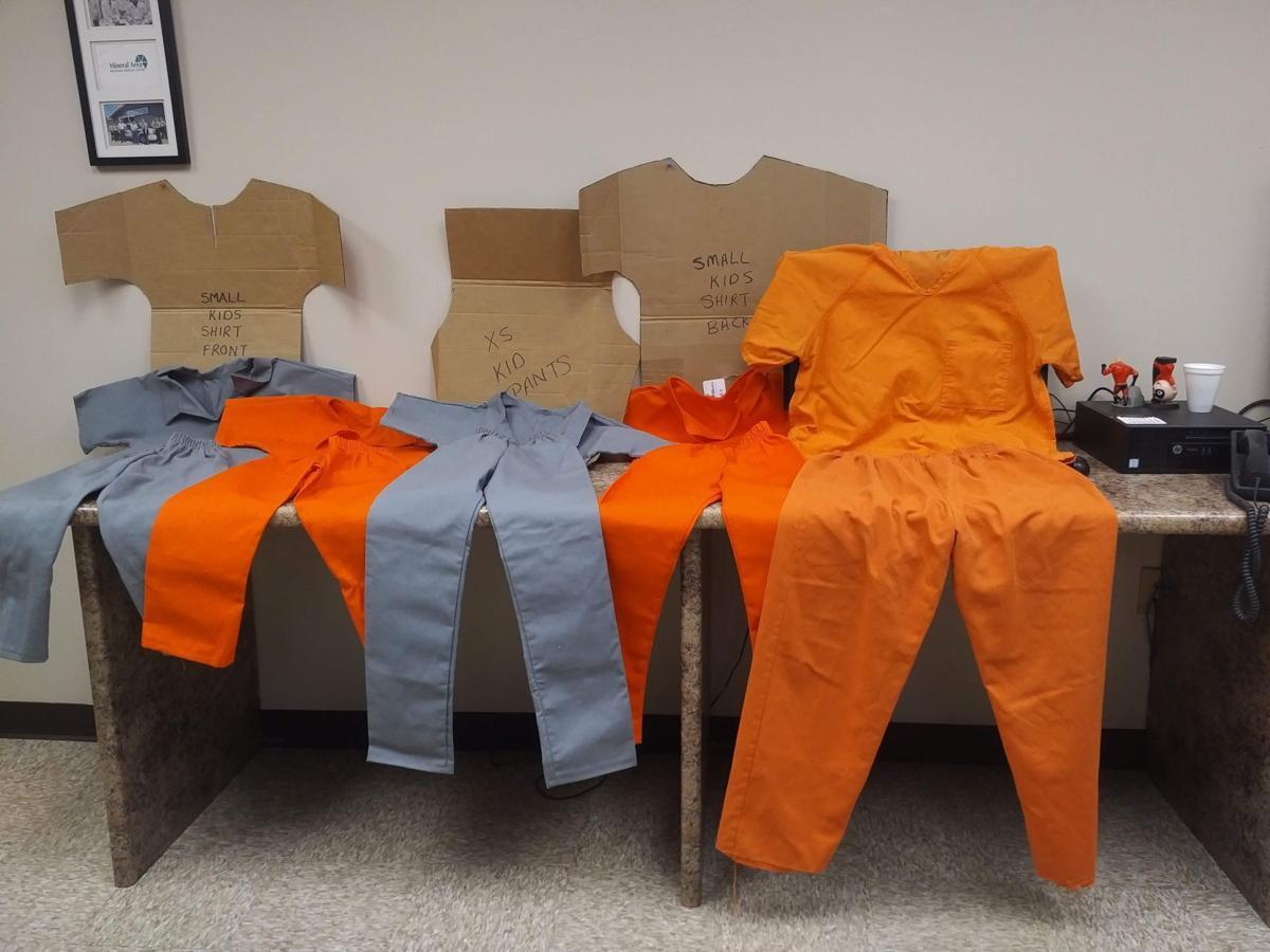 Jail uniforms for kids