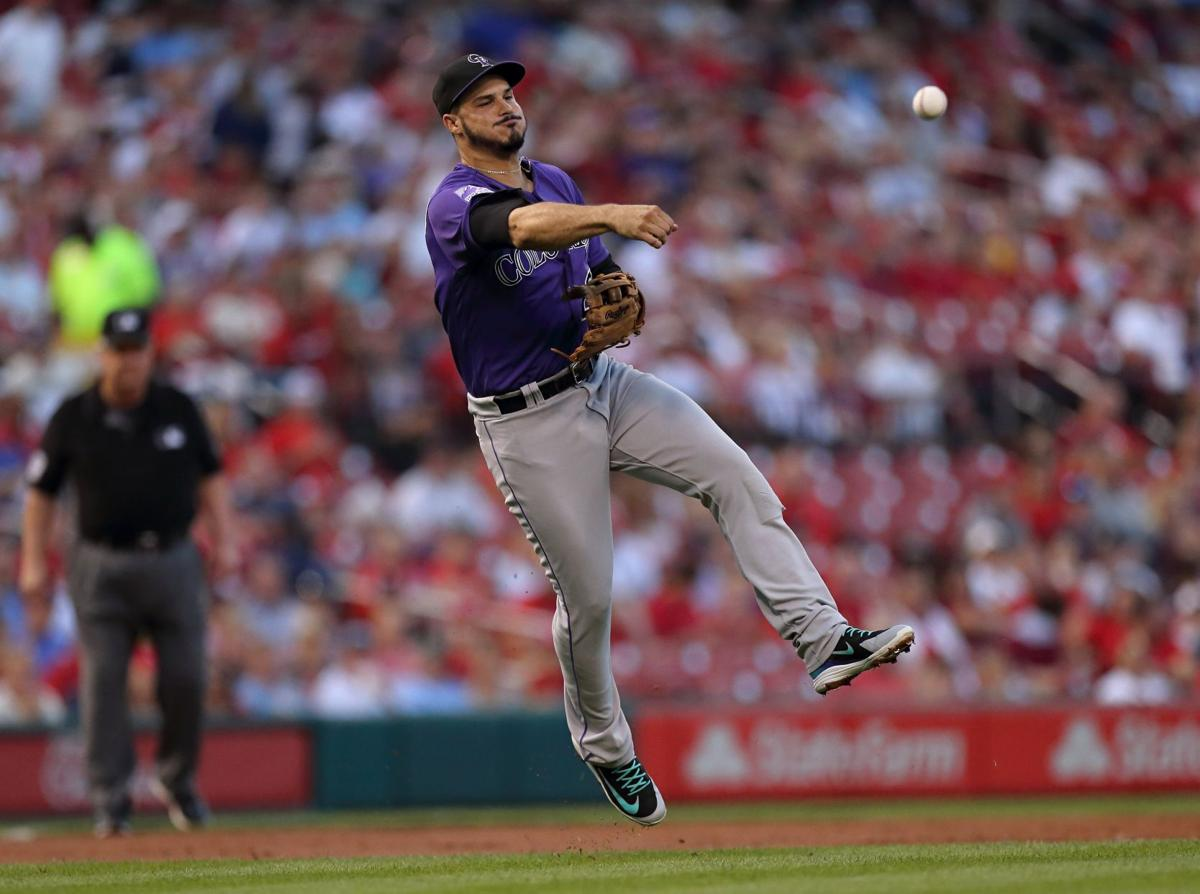 Colorado Rockies vs St. Louis Cardinals at Busch Stadium in St. Louis