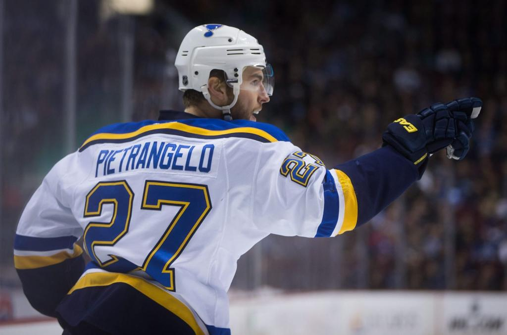 Pietrangelo Playing With More Confidence St Louis Blues Stltoday Com