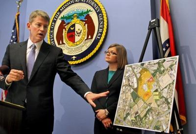 Missouri Attorney General Chris Koster announces lawsuit