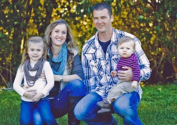 Trooper Kyle Deatherage and family