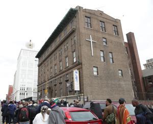 再開の繁華街ホームレスのシェルターのため昼間の時間を得支援のロマンティックホテルはセントルイスalderman