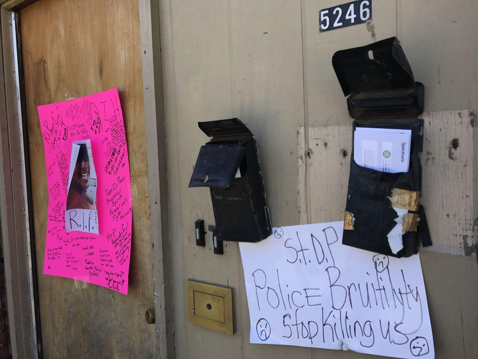 Vigil honors transgender woman killed by St