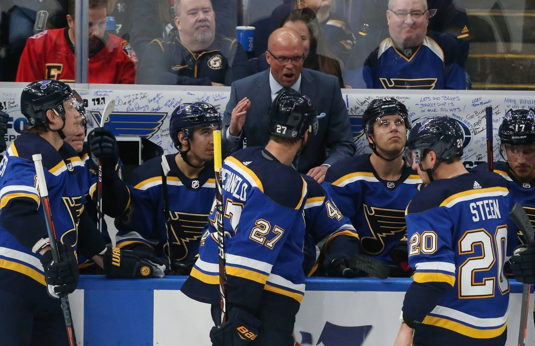 Blues Fire Head Coach Mike Yeo After Third Shutout Loss In Four Games