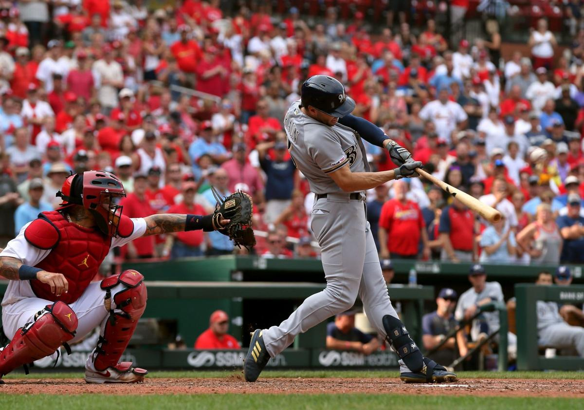 With Martinez absent, Braun and Brewers blow up Cardinals' bullpen