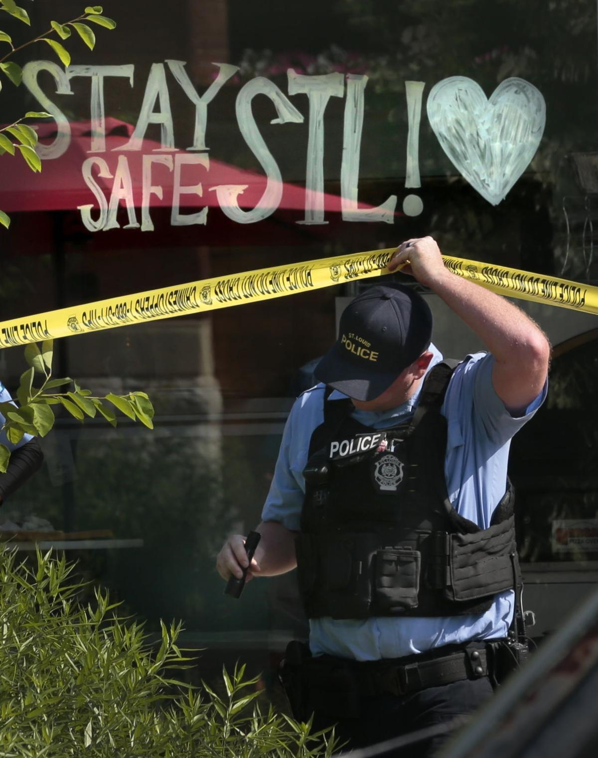 Teen accused of stealing tip jar shot outside Benton Park restaurant