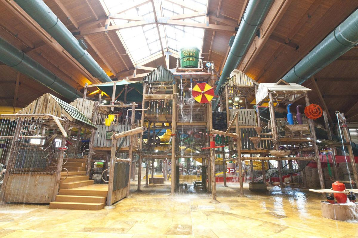 The Great Wolf Lodge Water Park in Kansas City, KS