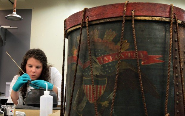 Civil War relics come to life in Missouri History Museum conservation lab