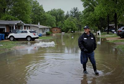 Flooding in Arnold