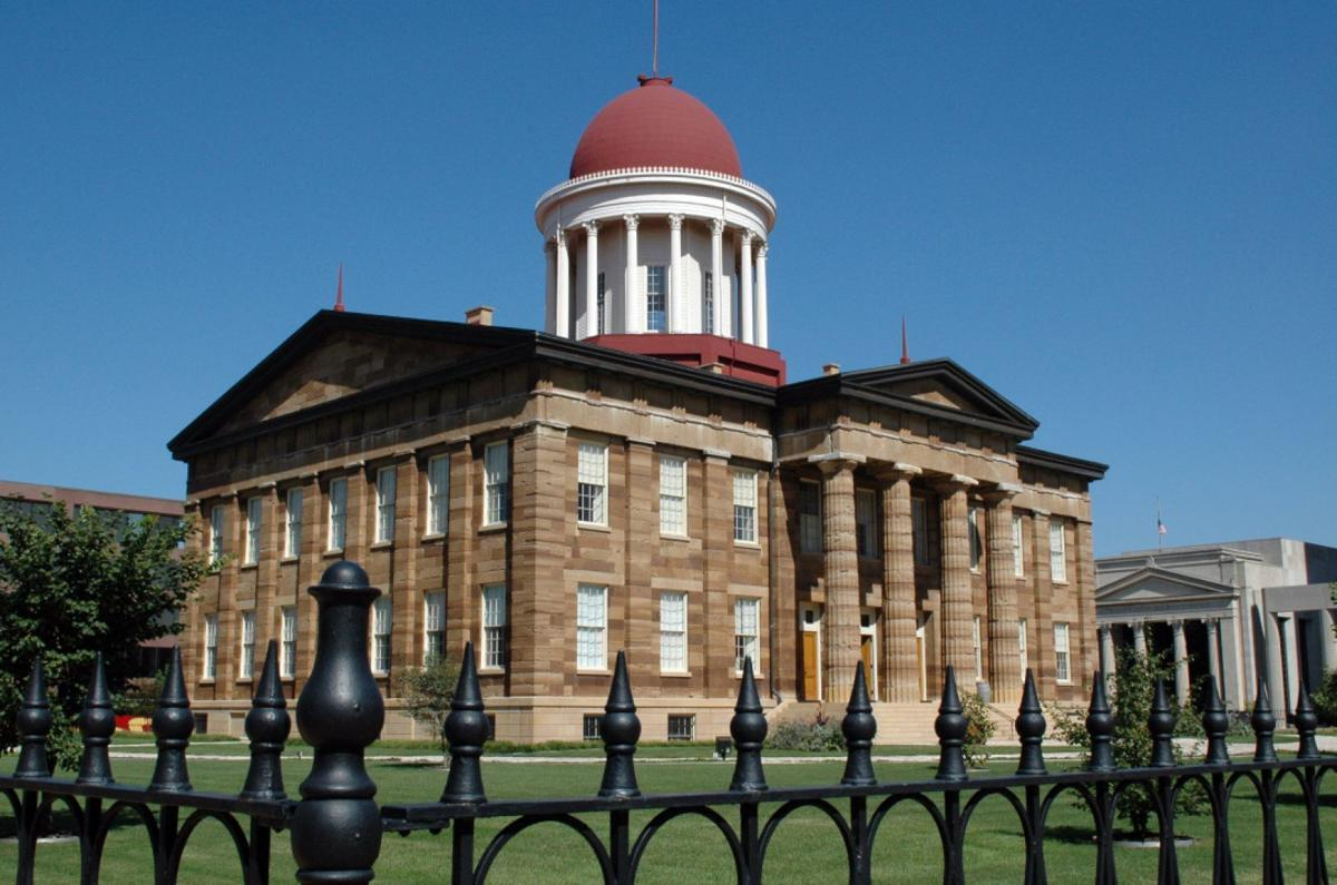 The Old State Capitol, Springfield, Ill.