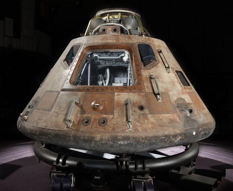 Command module Columbia, part of the Apollo 11 spacecraft