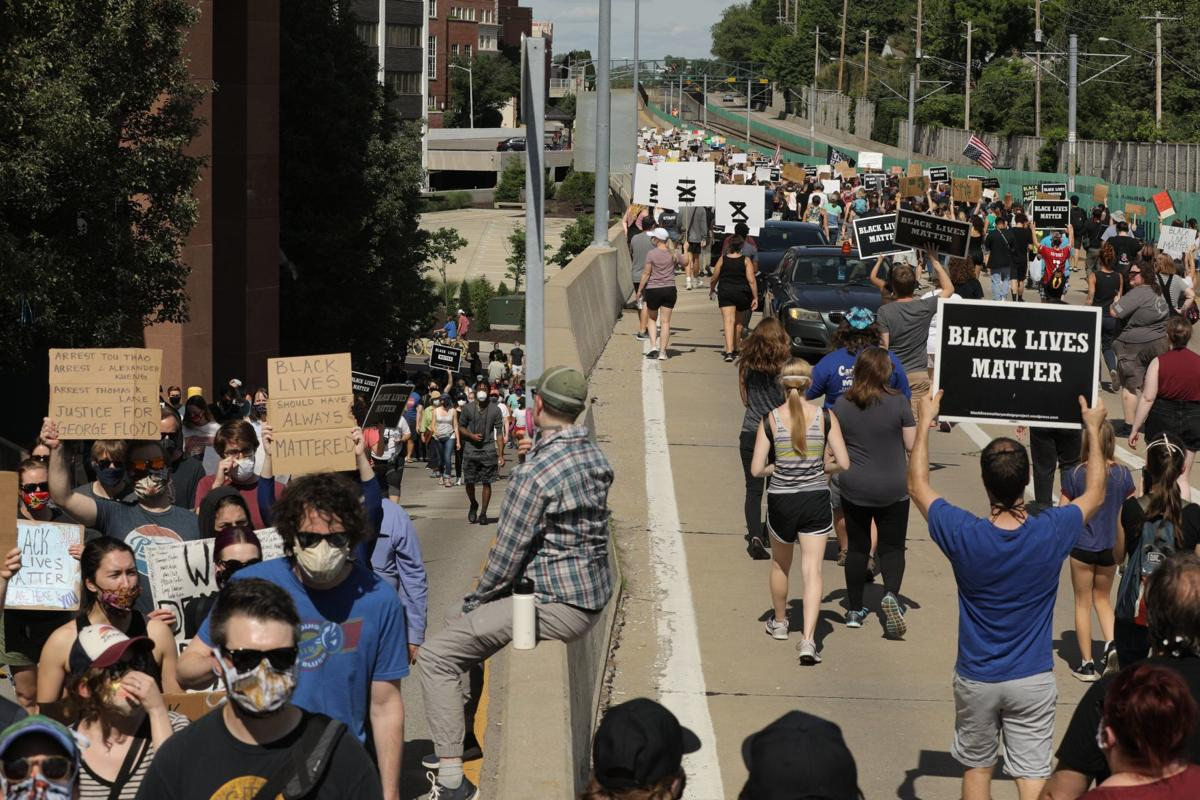 Police reform protesters take to St. Louis area streets