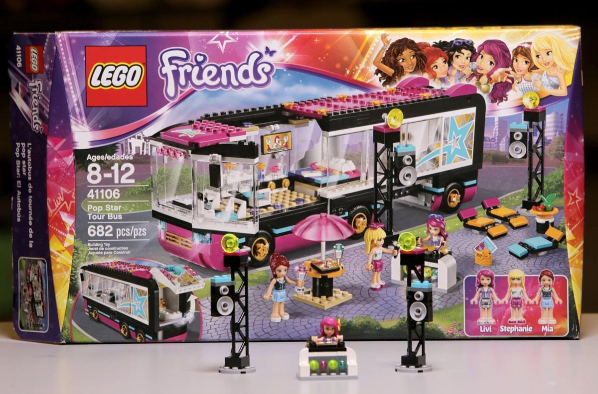 Lego Friends Pop Star Tour Bus 41106 5999 Multimedia
