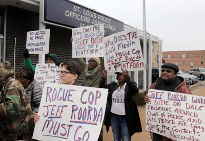 Supporters rally for union leader Jeff Roorda's removal