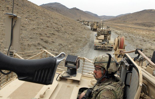 Bogged down in Afghanistan