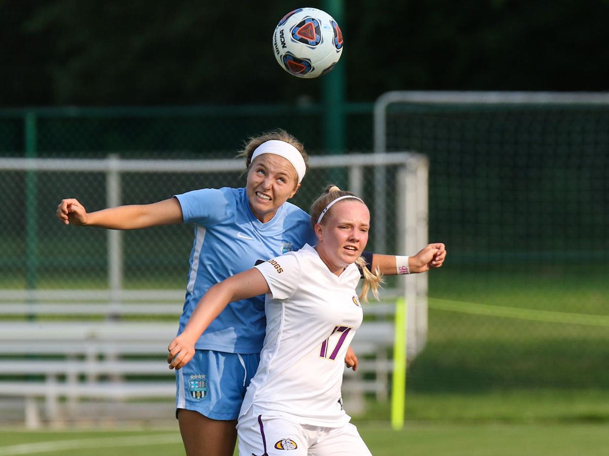 St. Dominic vs. Kearney girls soccer