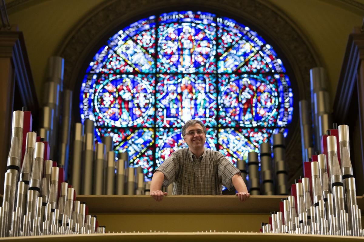 Andrew Peters, minister of music at Second Presbyterian Church