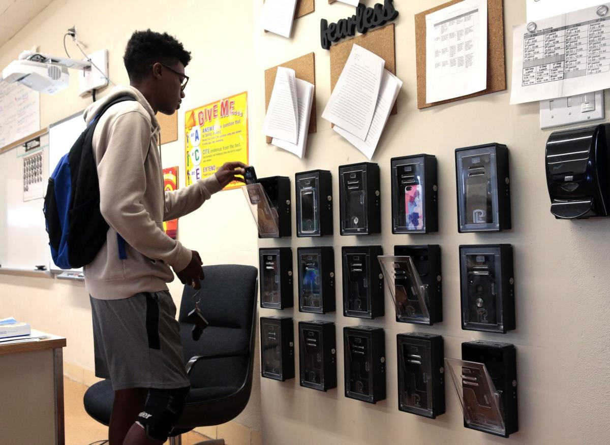 Schools try locking up cell phones to help class engagement