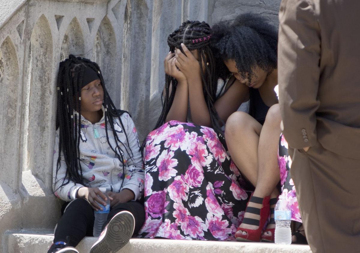 Xavier Usanga's funeral