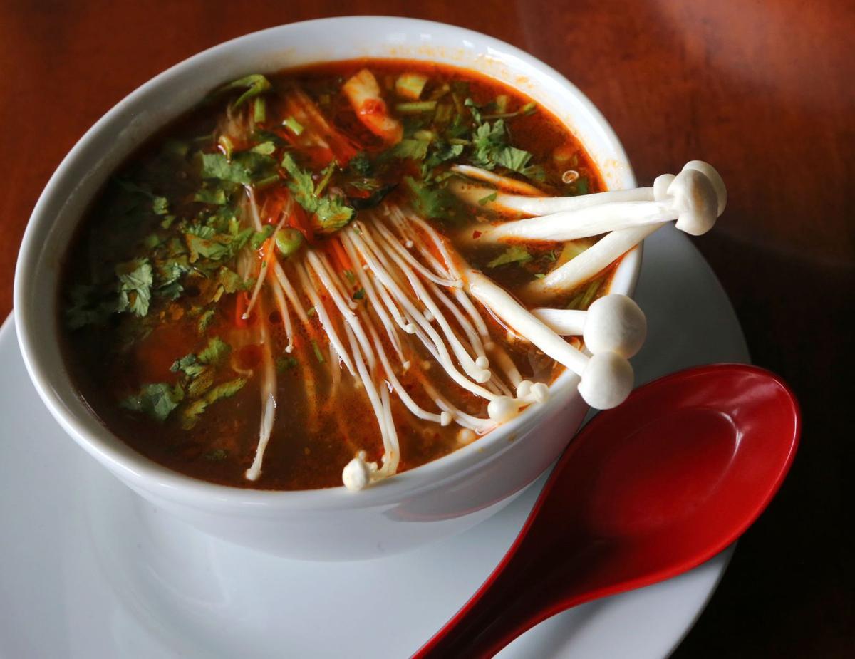 Thai Bistro, tom yum goong soup