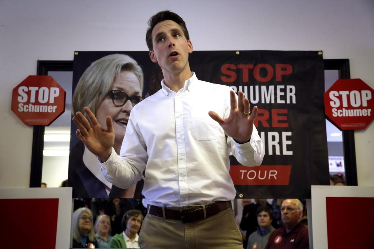 New report alleges illegal ad-buying coordination between NRA and Hawley Senate campaign