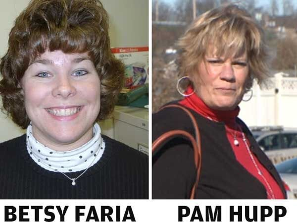 Betsy Faria and Pam Hupp